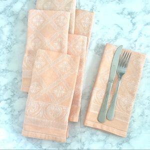 Vintage Cloth Napkin Set of 6
